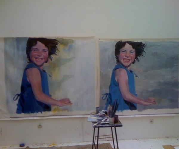 cadres Marie dans l atelier